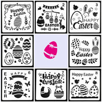 1Pc Easter Layering Stencils For Walls Painting Embossing Paper Card Template