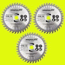 Mini Handkreissäge 3x Sägeblatt Holz 85x10 für Einhell TC-CS 860 / BT-CS 860 B30