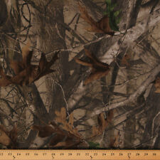 Next G2 Camo Trees Leaves Brushed Cotton Blend Fabric by the Yard D910.04