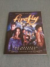 Firefly Vol. 2: The Official Companion by Abbie Bernstein and Joss Whedon.