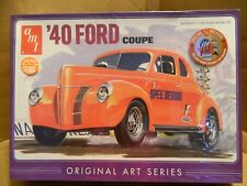 AMT '40 Ford Orange Coupe 1:25 Scale Plastic Model Kit #850 Ship FREE in US