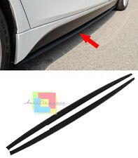 BMW SERIE 3 F30 F31 LIP SPOILER SOTTO MINIGONNE LATERALI LAME ABS - SOTTO PORTA