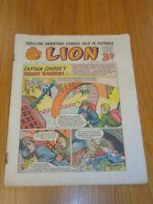 LION #151 JANUARY 8TH 1955 BRITISH WEEKLY COMIC FLEETWAY^