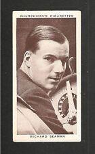 Richard Dick il marinaio britannico pilota di Formula 1939 ORIGINALE CARTA