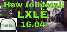 LXLE 64 bit DVD 27A Another great replacement for XP