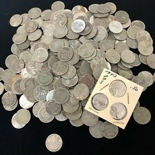 (500) 1943 STEEL WHEAT CENTS PENNY LOT (500) COINS COLLECTOR COIN LOT