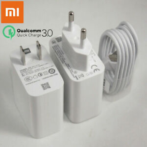 Original Xiaomi 27W Fast Wall Charger Adapter For Mi 9 10 Redmi 7 8 K20 K30 Pro