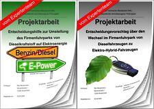 Projektarbeit Technischer Betriebswirt TBW & Präsentation IHK Fuhrpark