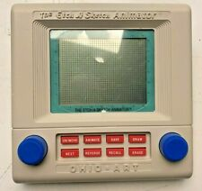 Etch A Sketch Animator Handheld Electronic You Ohio Art Vintage 1986