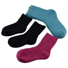 5Paar Baby Kinder Wollsocken Wolle Socken Winter Thermo Warme Socken Strümpfe le