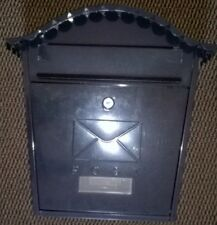 CASSETTA delle lettere per casa o parete esterna, con 4 Viti./ma nessuna chiave.