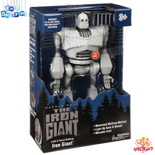 The Iron Giant Walking Robot Light & Sound Effects 15 Inches Action Figure Toy