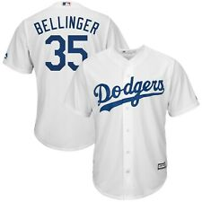 Cody Bellinger #35 Los Angeles Dodgers White Home Majestic Cool Base Jersey