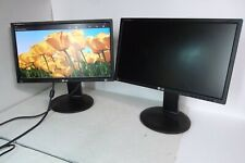 "LOT-2 LG Flatron E2211PUX 22"" Wide LED Monitor HD 1080p USB DVI VGA  E2211PU-BNX"