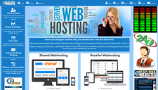 Ready Made Reseller Webhosting Website Free Billing System Included Style 3003