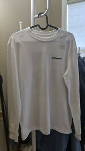 NWT Patagonia Men's Long-Sleeved Not For Sale Responsibili-Tee XS White MSRP $45