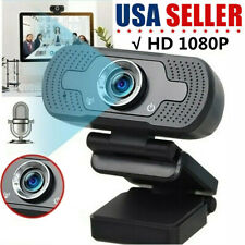 Real 1080P Full HD USB Webcam Web Camera with Microphone For PC Desktop Laptop