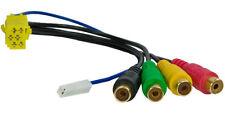 MINI ISO 4 Kanal Cinch Adapter LINE-OUT Kabel Radio Verstärker Blaupunkt Grundig