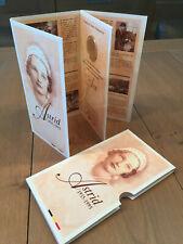 Belgium 250 francs 1995 QP dans blister Reine Astrid