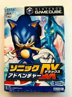 Nintendo Game Cube SONIC ADVENTURE Deluxe JAPAN SEGA GC Japan JP Gamecube