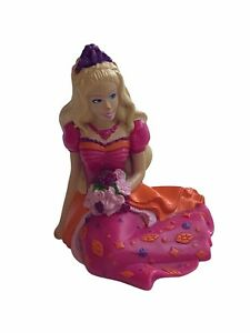 Barbie Doll DecoPac Cake Topper Birthday Party Decoration Sitting Princess Pink