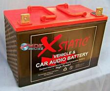 Xstatic Car Audio Battery Model X4000  4000 Amp Battery  Proudly Made in the USA