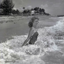 Bunny Yeager Pin-up Camera Negative Bathing Beauty Splash Alta Whipple 1960 WOW!