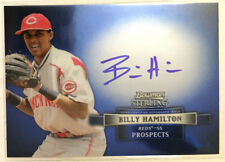 Billy Hamilton 2012 Bowman Sterling Prospect on-card Autograph Auto - REDS