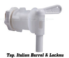 Italian Barrel Tap med. Spigot & locknut Home Brew Beer Wine Spirit 55599