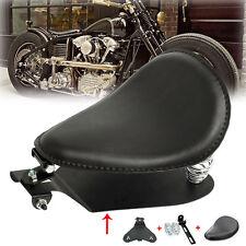 Ressorts de siège selle solo personnalisé Noir Hachoir Pour Harley Sportster
