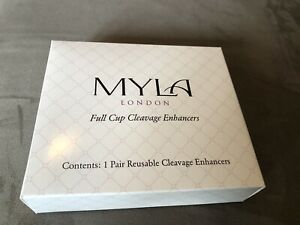 Myla: Pair of Full Cup Cleavage Enhancers (reusable)