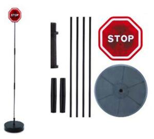 Einparkhilfe Einfahrt STOP Schild ROT PARKHILFE Garage Carport OHNE FUNKTION !