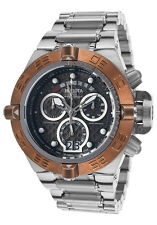 New Mens Invicta 17609 Subaqua Chronograph Roating Copper Bezel Bracelet Watch