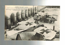 Mint RPPC WW 1 Germany Luftwaffe Captured Fighter Planes Real picture postcard