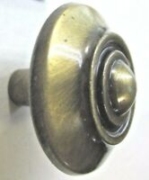 """Vintage NOS Chrome Cabinet Drawer Pull Handle 4/"""" Jaybee Los Angeles"""