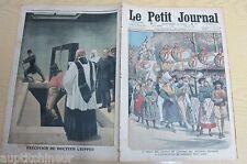 Le petit journal 1910 1046 Mort exécution par pendaison du docteur Crippen