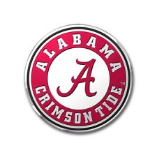 Alabama Crimson Tide Ncaa Licensed Full Color Aluminum Team Emblem