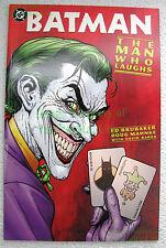 Batman Joker The Man Who Laughs 1st Print One-Shot TPB Prestige Format EXCELLENT