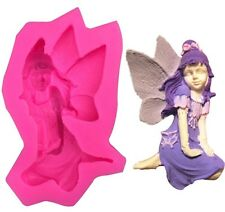 3D Angel Mould Fondant Cake Chocolate Sugarcraft CLAY Mold Cutter Silicone DIY