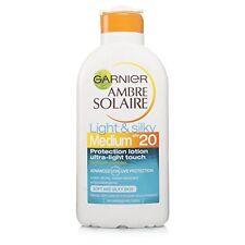 Garnier Ambre Solaire ligero y sedoso Crema de sol SPF20 Mediano 200ml