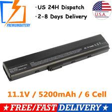 Battery For Asus K52 K52f K52J K42 K42F A52f A52J A42 A52 X52f A32-K52 A31-K52