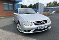 2008 Mercedes Benz CLK220 CDI Sport Auto 100% ULEZ FREE Automatic facelift coupe