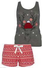 Polyester Pyjama Sets Vest Lingerie & Nightwear for Women