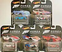 Forza Motorsport Set 2017 GT3 RS 3.0 CSL 356 Speedster Ford GT 1:64 Hot wheels
