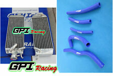 FOR SUZUKI RM125 MODEL W/X/Y 1998-2000 ALUMINUM RADIATOR AND HOSE