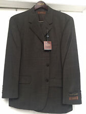 Tasso Elba 2 Piece Mens Suit 44Short 38W Brand New With Tags
