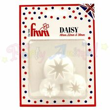 FMM Sugarcraft - Daisy Cutter set of 3 - Cake/Craft Flowers