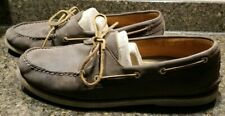 SPERRY Top Sider 0219493 Gold Cup Authentic Brown Leather Boat Shoes Men's Sz 15