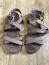 Timberland Leather Sandals Size Uk 9 Excellent Condition