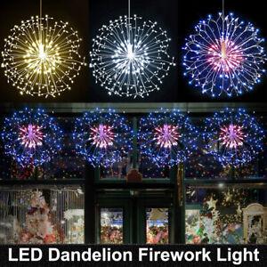 LED Feuerwerk Lichtkette Weihnachtslichterkette Fernbedienung Party Leuchte LED